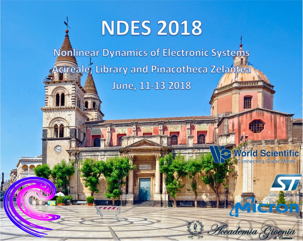NDES 2018 Nonlinear Dynamics of Electronic Systems